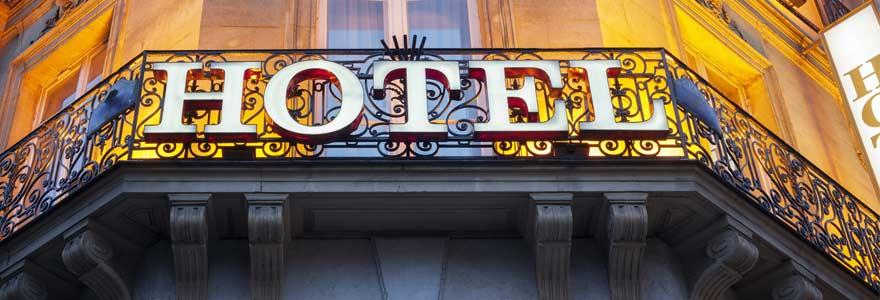 hôtel de luxe Paris